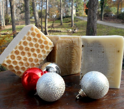 # Handmade natural Holidays Soaps