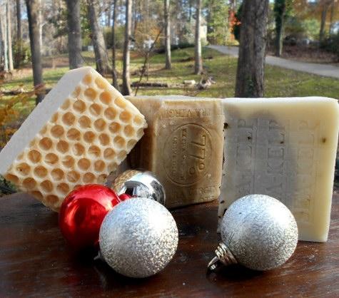 # Handmade natural Holidays Soaps