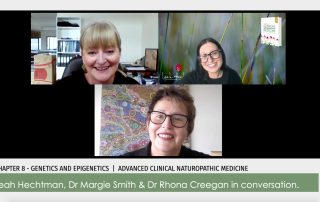 Dr Margie Smith, Dr Rhona Creegan, Leah Hechtman