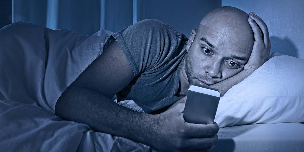 Natural Remedies For Insomnia - Avoid Electronics