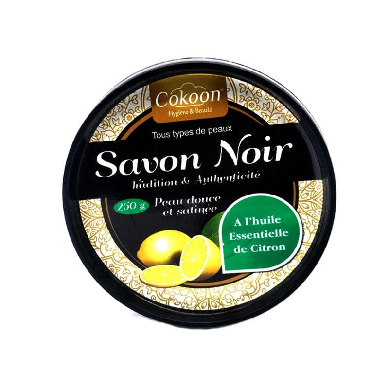 Savon Noir à l'huile essentielle de citron