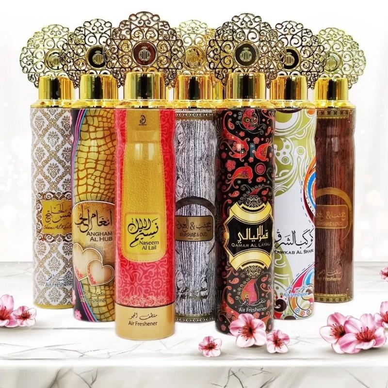 Pack 12 Spray désodorisants Dubai – My Perfumes