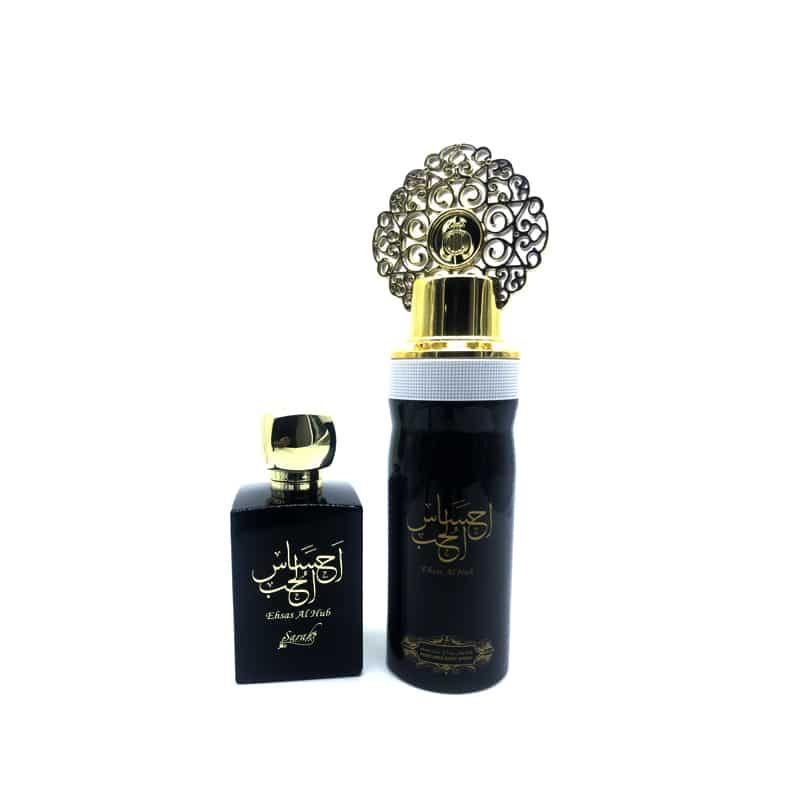 Coffret Cadeau Ehsas Al Hub Eau De Parfum 100 ml + Déodorant 200 ml My Perfumes