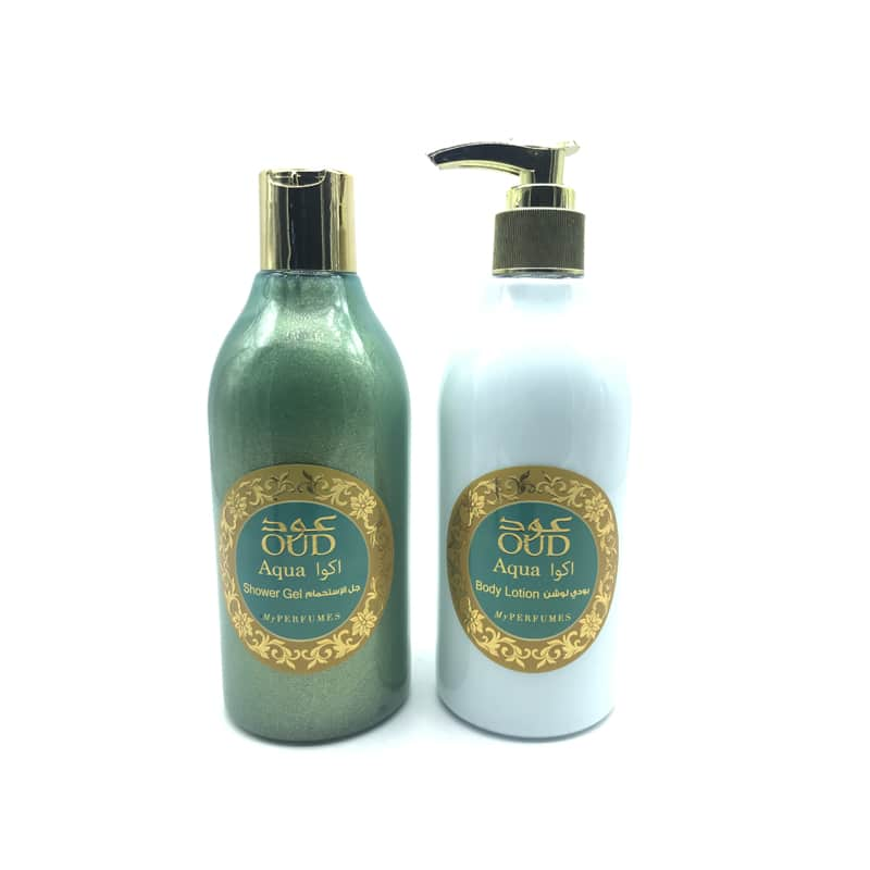 Lotion & Gel Douche Parfumé Oud Aqua 300ml - My Perfumes