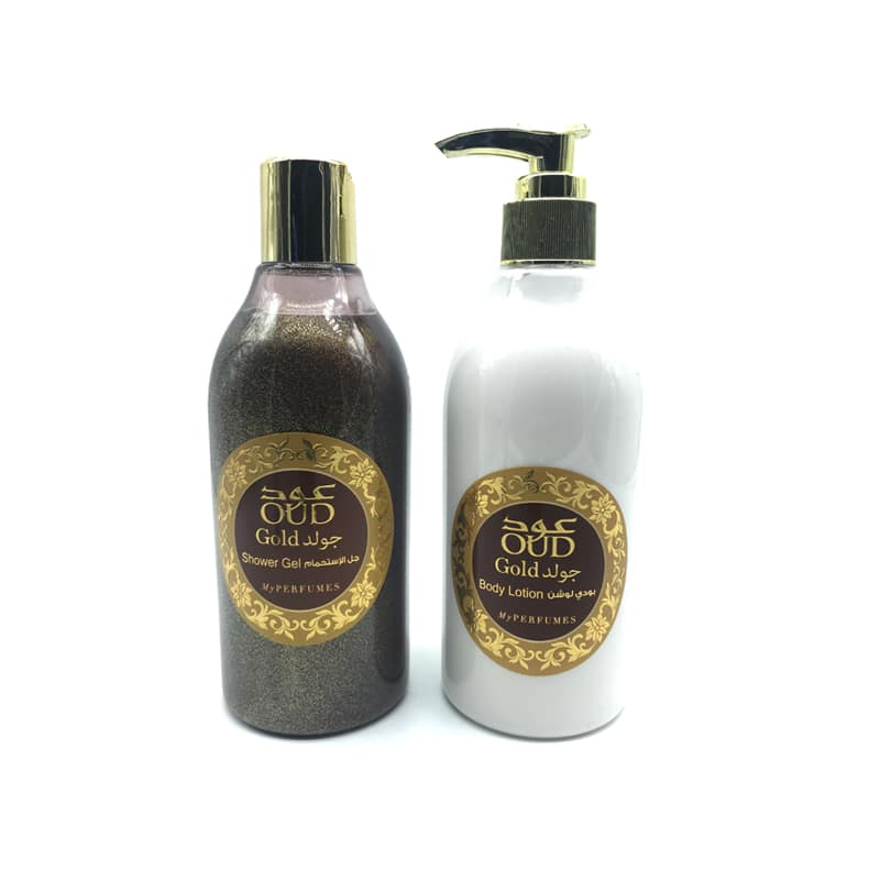Lotion & Gel Douche Parfumé Oud Gold 300ml - My Perfumes