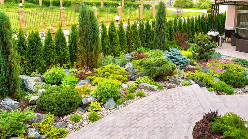 Backyard landscaping Ideas Without Grass For Ohio Homeowners on Backyard Ideas Without Grass  id=86563