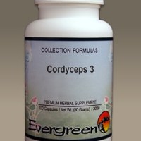 C3086 Evergreen Herbs Cordyceps 3 - Capsules 100 count Homeopathy Holistic Healthcare Natural Medicine Center Lakeland Central Florida