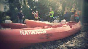 canoas oviedo rio nalon las caldas