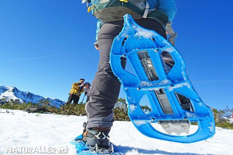 rutas en raquetas de nieve fácil