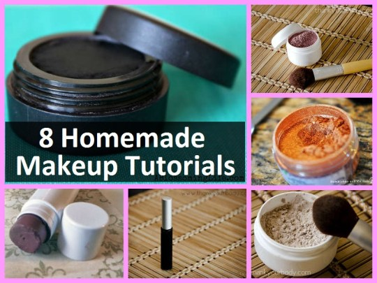 8 Homemade Makeup Tutorials