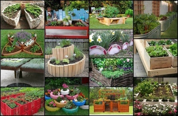 20 Unique & Fun Raised Garden Bed Ideas on Backyard Raised Garden Bed Ideas id=85015