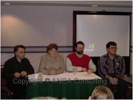 AF Conference 2004 Leo Charlie Lars and Stephen 2