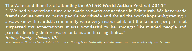 What our delegates have to say about the ANCA World Autism Festival