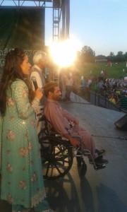 Khurshid Alam performing 2