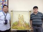 Vico art on pinya cloth fashion 6