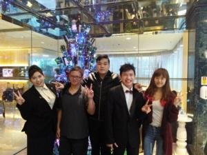 vell baria and Clarence Kang win award in HongKong