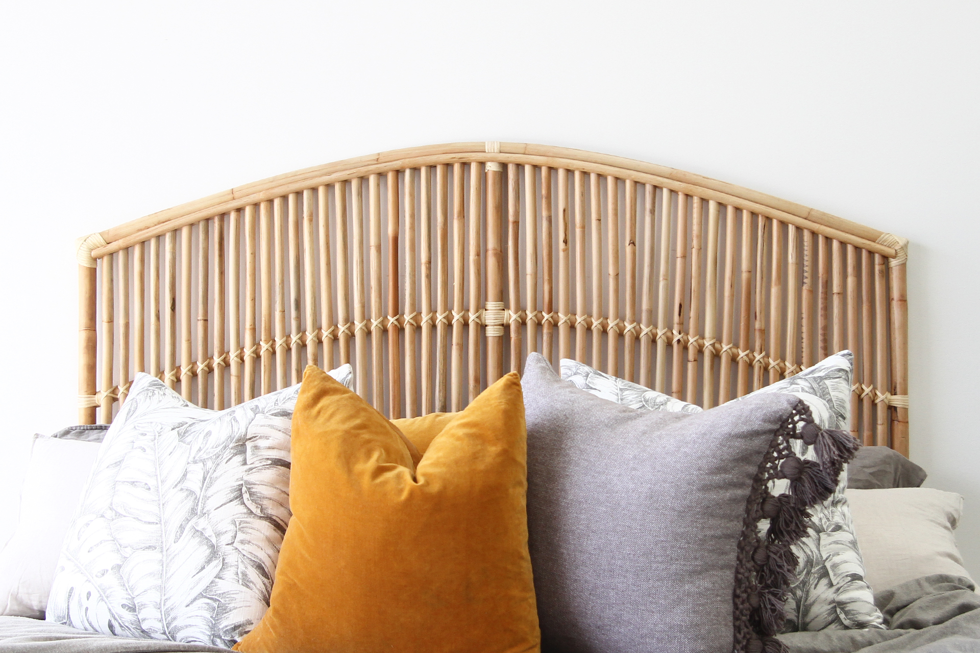 Momi Bay Bedhead Naturally Cane Rattan And Wicker Furniture