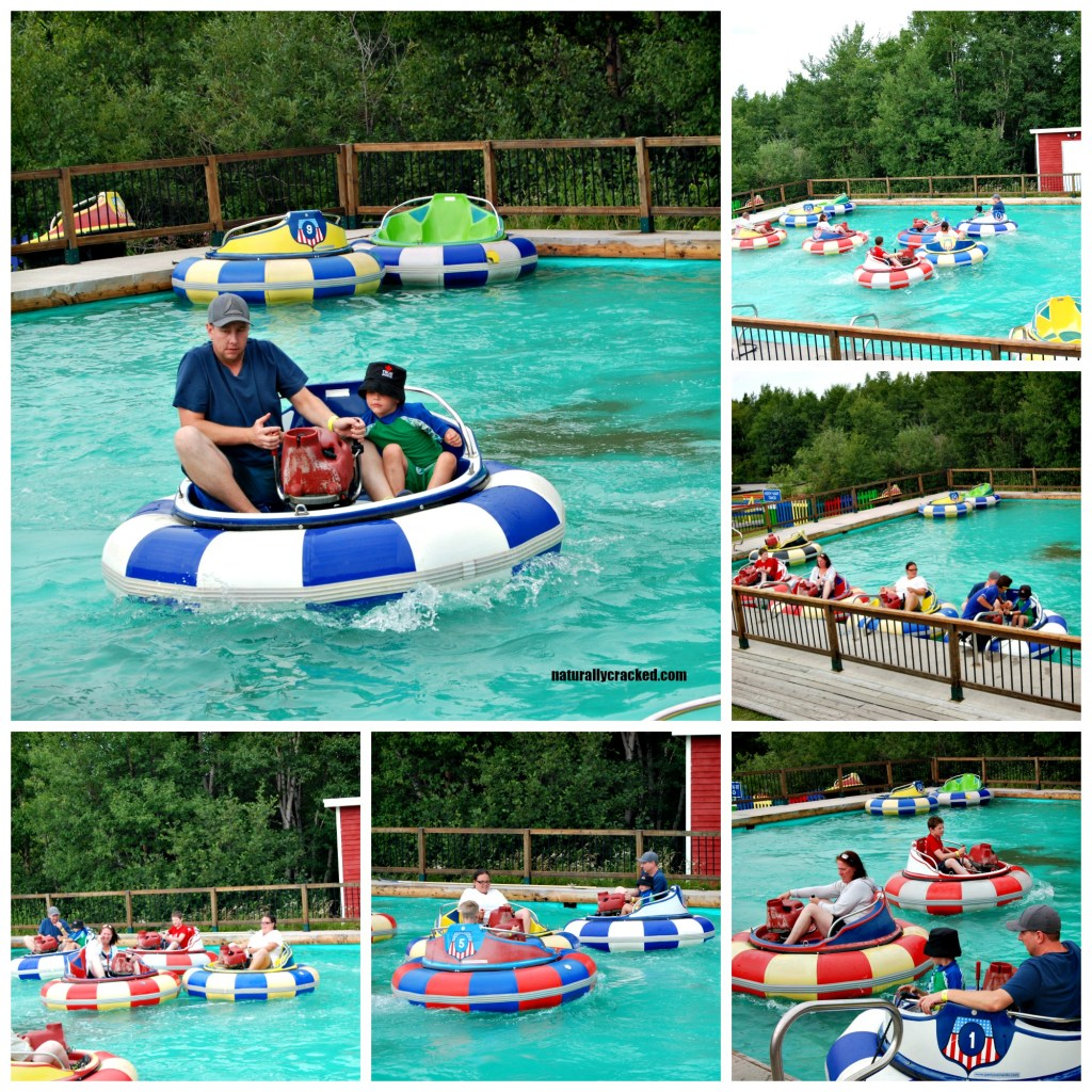 Splash n' Putt Bumper Boats