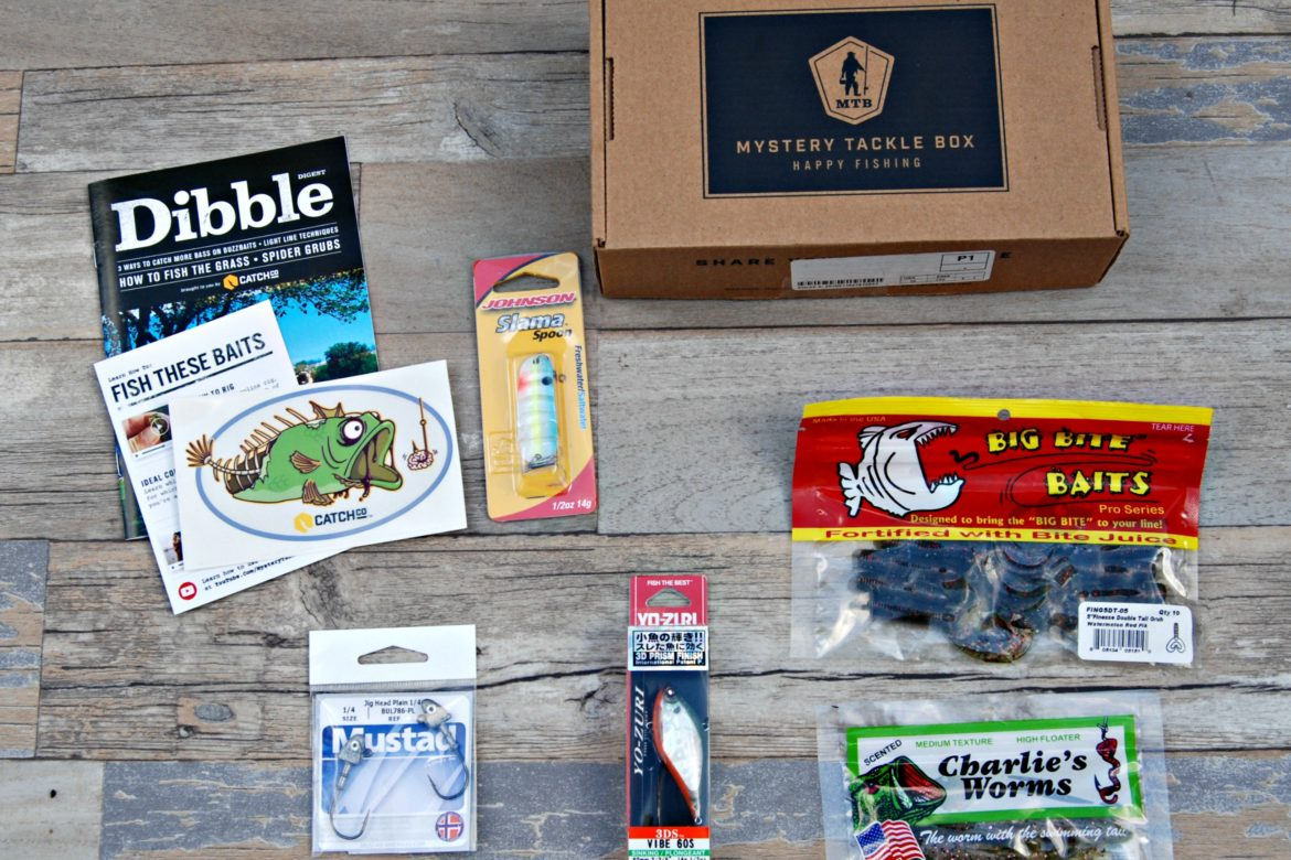 Mystery Tackle Box Ncgiftguide Naturally Cracked