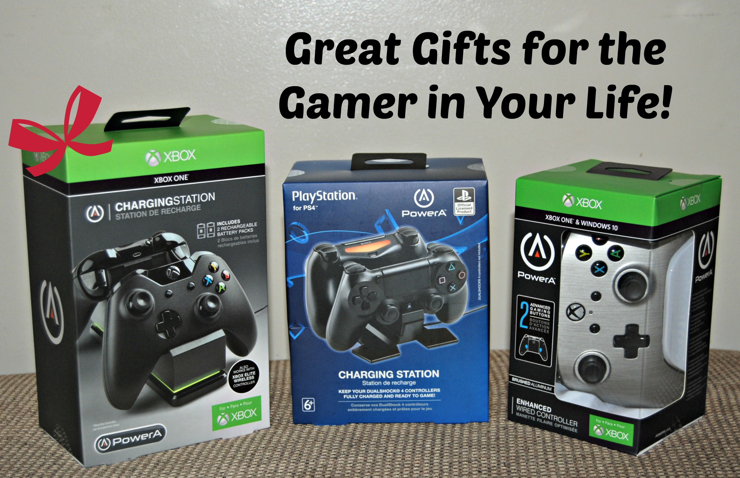 Great Gifts for The Gamer In Your Life from PowerA - Naturally Cracked