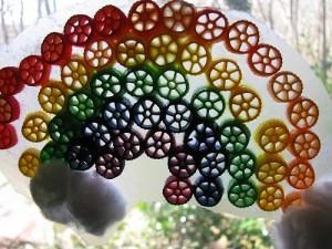 Rainbow Pasta Craft