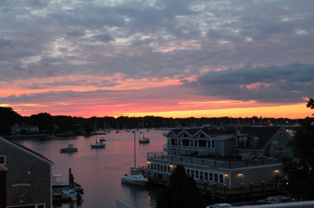 Our First Rhode Island Sunset