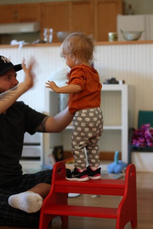 Daddy's Lil Helper- Edith Oct 2013- High Five
