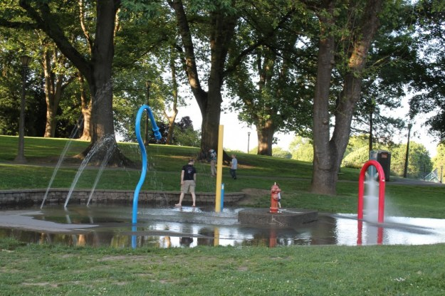 Irving City Park- Splash Pad