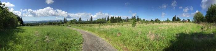 Cooper Mountain - view pano