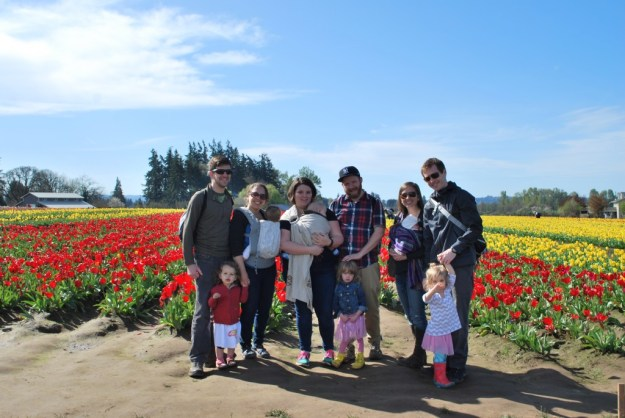 March 2015 - Tulip Fest - group