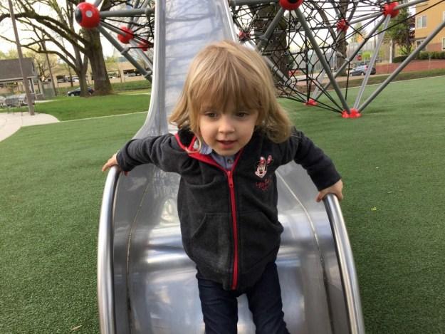 Portland Area Parks - Dawson Park - Edith Slide