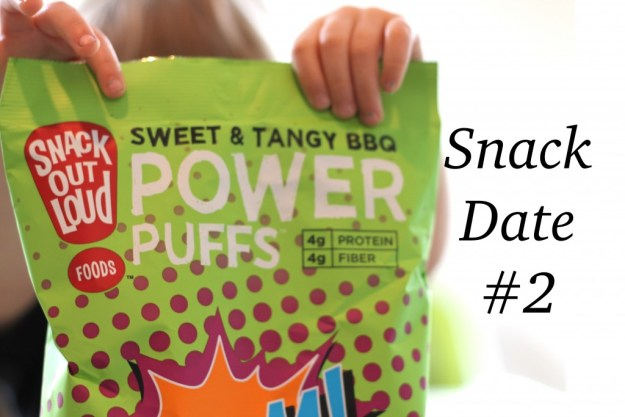 Snack Date With Snack Out Loud Power Puffs boom