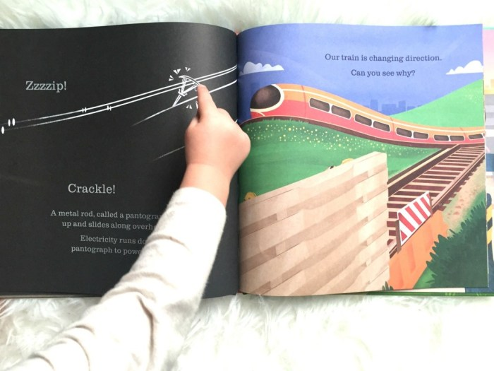 Reading Wednesday - Usborne Books On The Train -