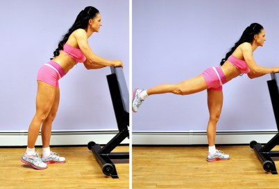Image result for Chair Kicks exercise