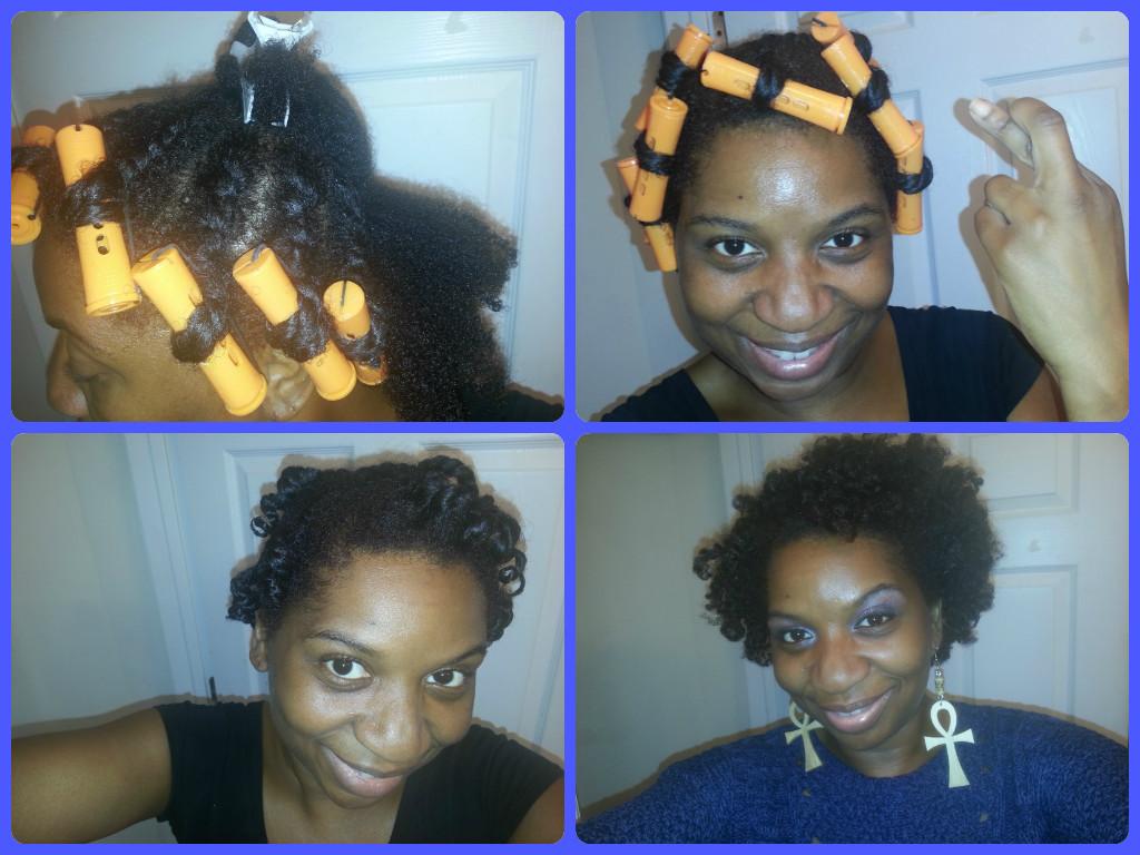 My Flat Twist Perm Rod Set On Natural Hair Naturally Lp