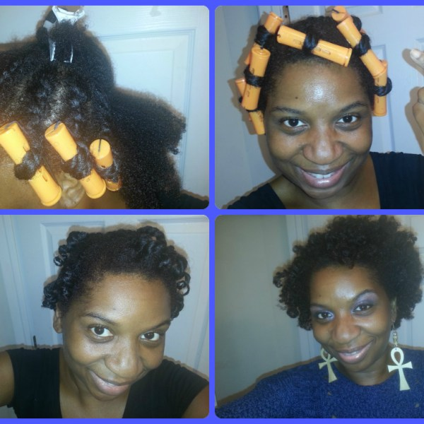 Flat Twist Perm Rod Roller Set