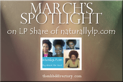LP Share of Naturally LP Featured on Natural Hair Blog Directory NHBD