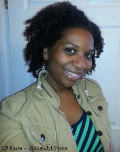 Braid Out LOC Method Using Homemade Natural Products DIY