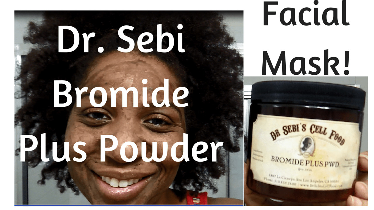 Dr. Sebi Bromide Plus Face Mask Thumb