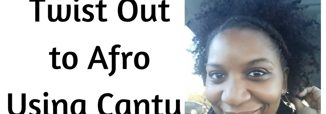 LP Share Twist Out Results Using Cantu Shea Butter Leave In Coconut Curling Cream