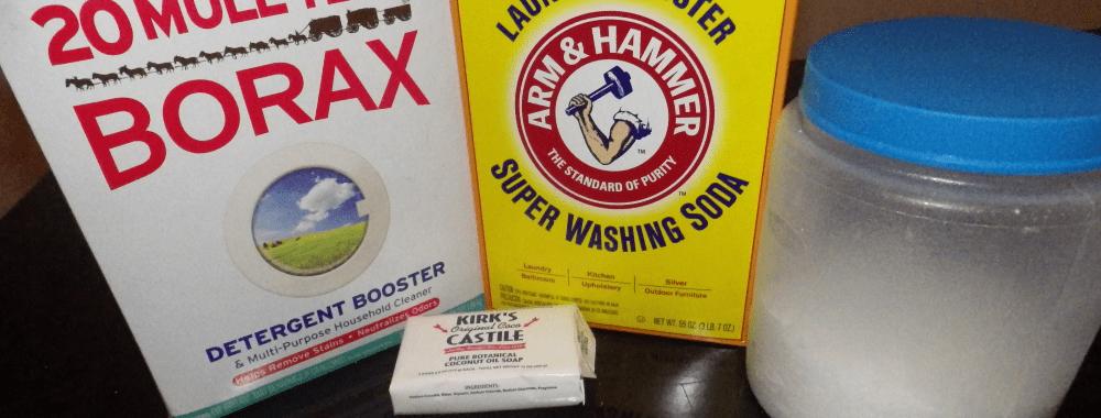 DIY Laundry Soap Recipe