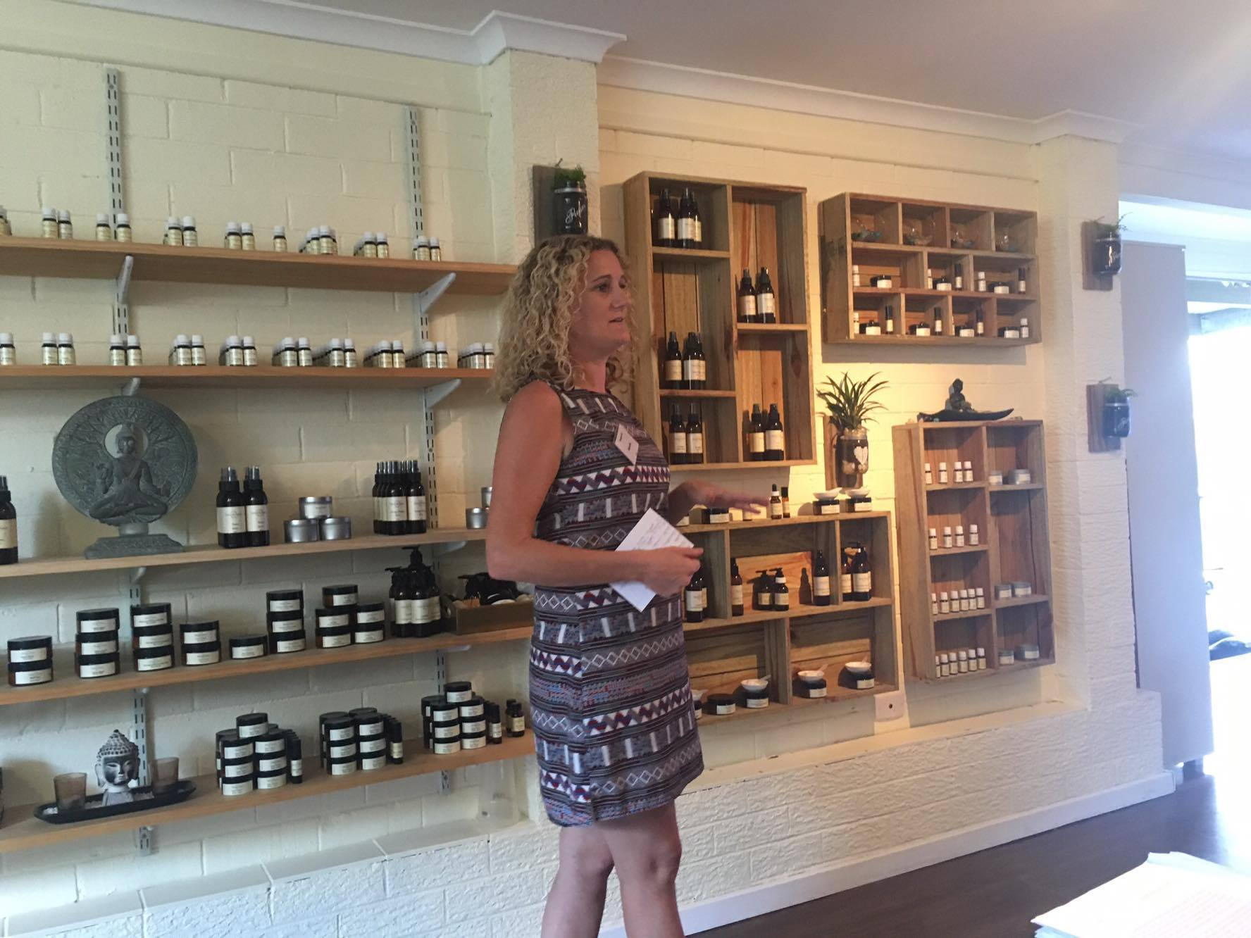 Amanda from Naturally Nature talking about about the benefits of Essential Oils