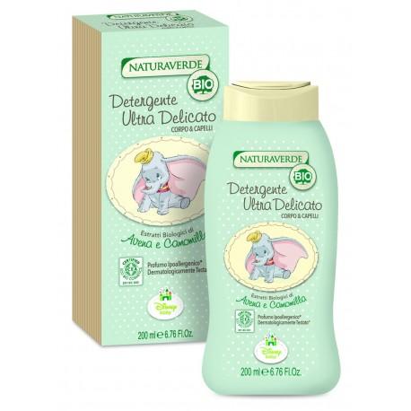 detergente ultra delicato corpo capelli naturaverde bio