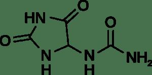 struttura chimica dell'allantoina