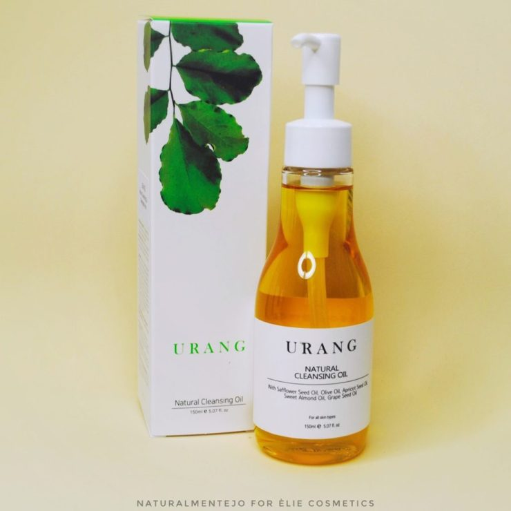 Natural cleansing oil urang