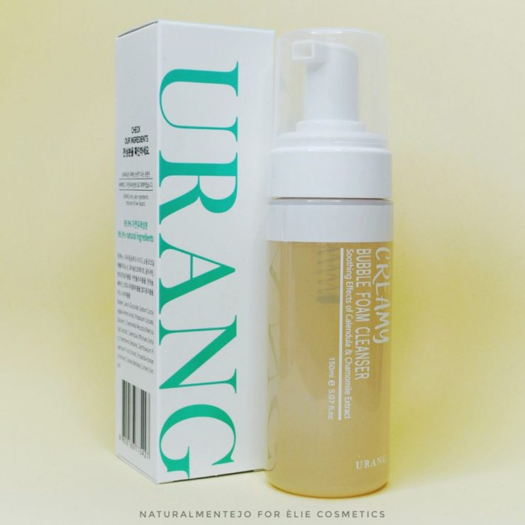 creamy bubble foam cleanser urang