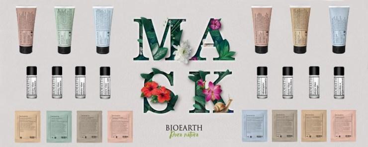 Banner linea maschere e sieri bioearth