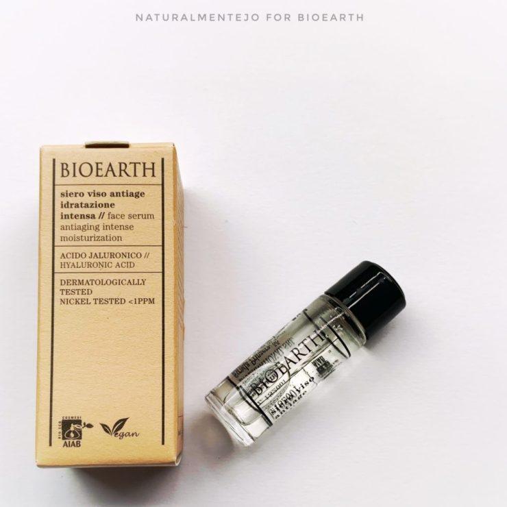 Siero viso antiage idratazione intensa bioearth