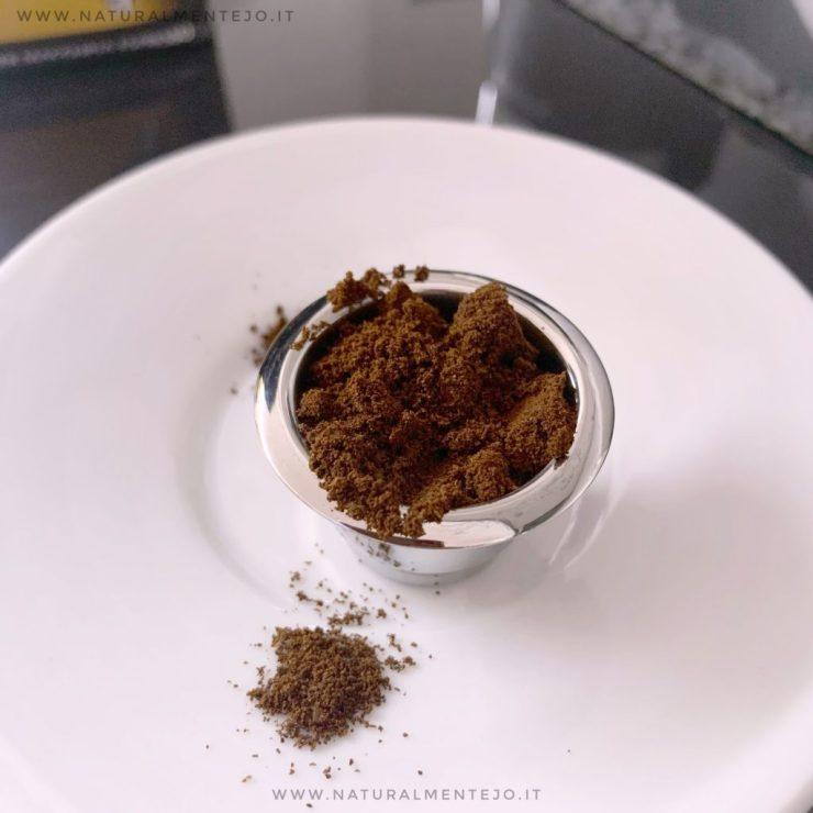 capsula riutilizzabile inox