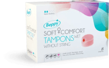 Tampony Beppy - tampony bez sznureczków do uprawiania sportu i seksu podczas okresu